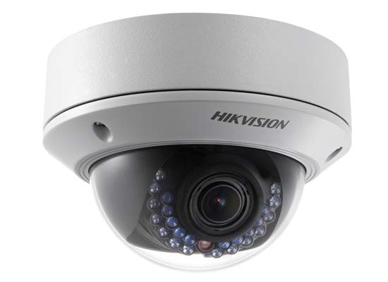 HikVision cam�ra IP D�me DS-2CD2712F-I